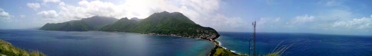 A beautiful island.