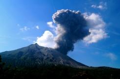 Eruption time.