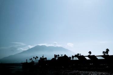 A quiet Sakurajima.