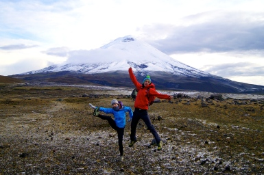 This volcano demands a pose (2014).