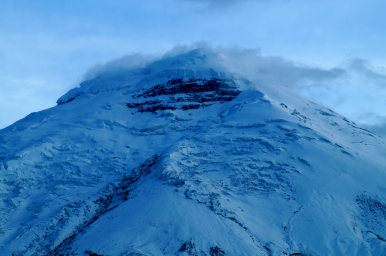 The 'eye' of Cotopaxi (2014).