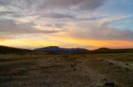 Sunset across Cotopaxi National Park (2014).