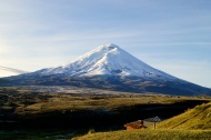 Cotopaxi volcano in the morning sun (2014).