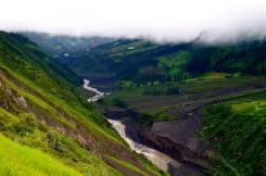 The beautiful green flanks of Tungurahua (2016).