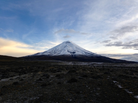 Cotopaxi volcano. 5897m ASL (2014).