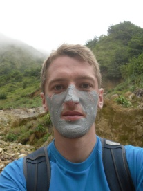 Using the volcanic mud to its fullest...