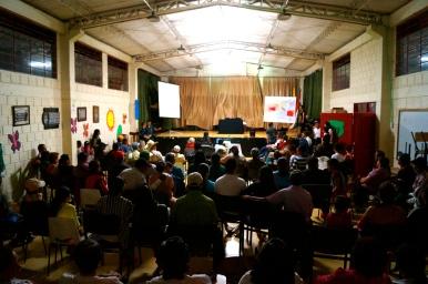 First community workshop.