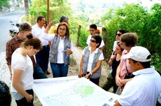Exploring around Cerro Machin.