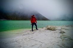 Laguna verde was an incredible sight.